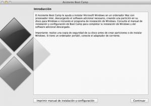 Instalar partición Windows en Mac