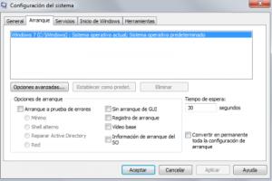 Iniciar en modo seguro Windows 7