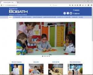 Web Fundación Bobath