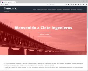 Web Ciete Ingenieros