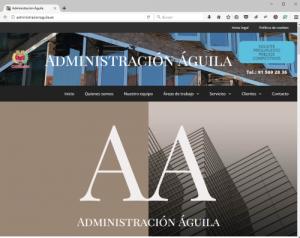 Web Administración Águila