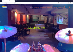 Web La Leyenda Rock Bar