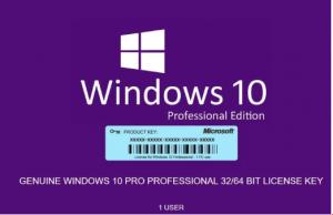 Número de serie Windows